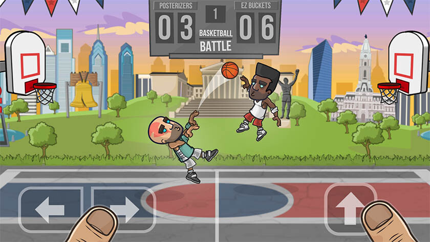 10 best basketball games on Android 2