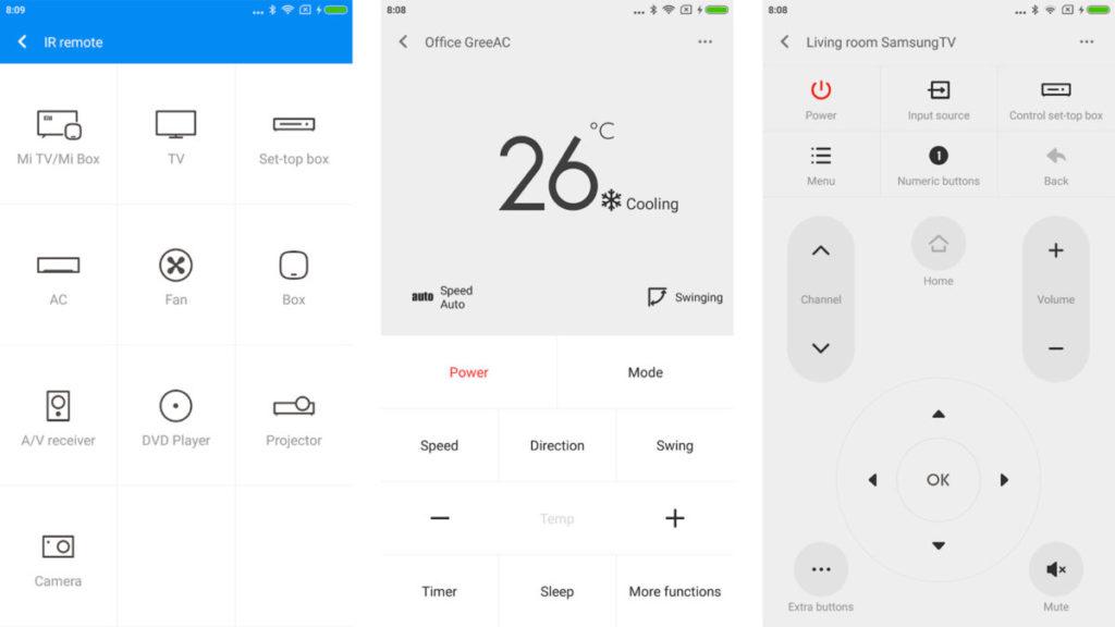 Приложения от производителей смартфонов