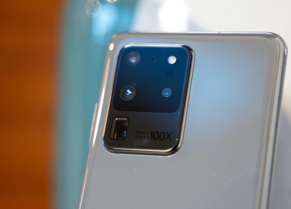 Вид камеры в моделях S20 Ultra