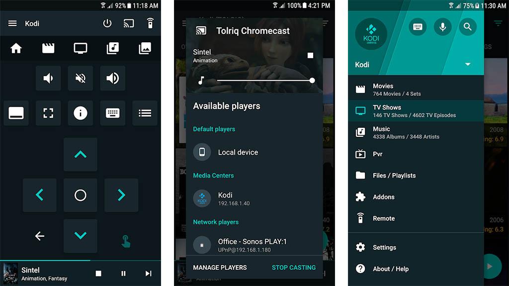 Приложение Yatse: Kodi Remote Control